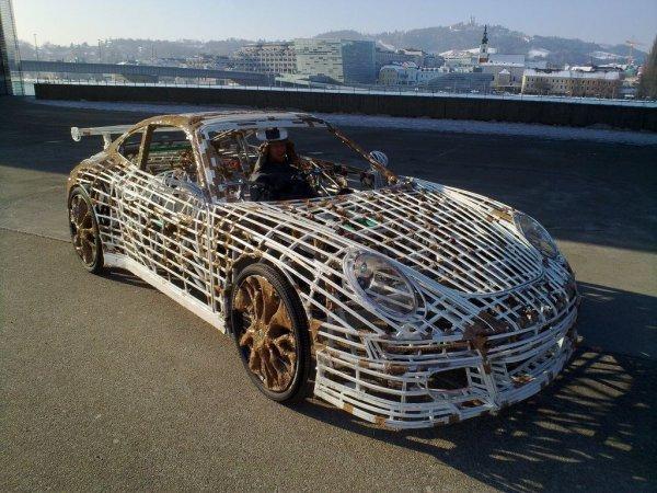 Копия Porsche 911 GT3 RS своими руками