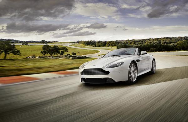 Aston Martin представил новый V8 Vantage S