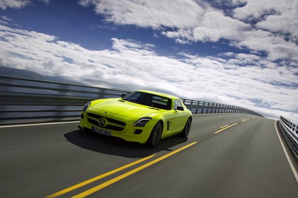 Mercedes-AMG дорабатывает SLS AMG E-CELL