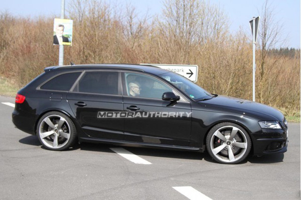 ��������� ������ �������� � Audi RS4 Avant 2014