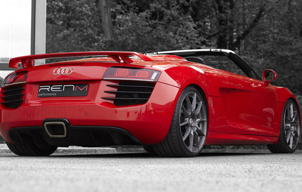 Audi R8 V10 RMS Spyder от RENM Performance