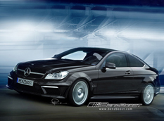 Новые сведения о Mercedes C63 AMG Coupe Black Series