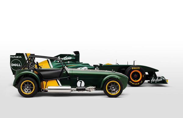Caterham выпустит Seven Team Lotus Special Edition