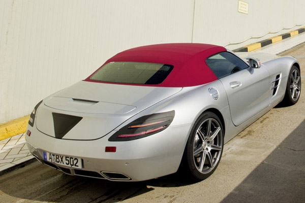 Mercedes SLS AMG Roadster - ����������� ��������