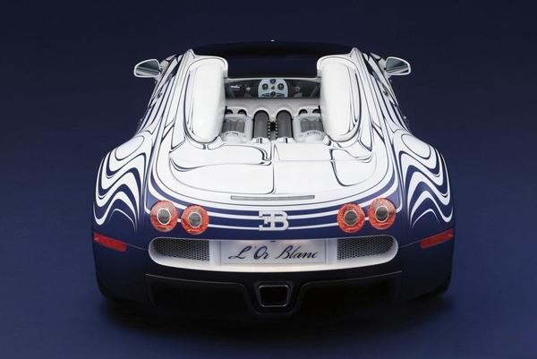 Bugatti Veyron Grand Sport L'Or Blanc Special Edition
