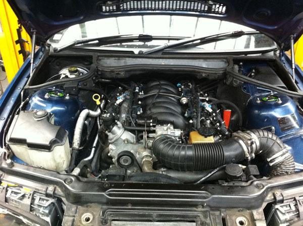 BMW 357Ci - немец с американским сердцем