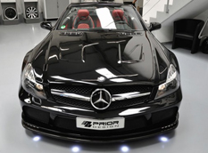 Mercedes-Benz SL Black Edition в тюнинге Prior Design