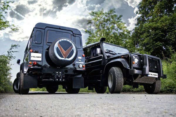Роскошный Land Rover Defender в тюнинге Vilner