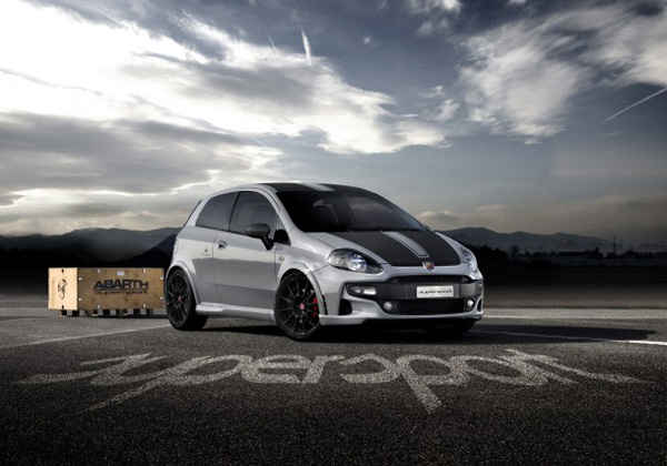 Abarth Fiat Punto SuperSport покажут во Франкфурте