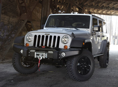 Jeep Wrangler Call of Duty:MW3 Special Edition
