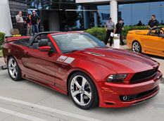 SMS Supercars показал 302 Mustang Convertible 2012