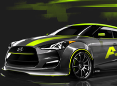 Hyundai Veloster 2012 в тюнинге ARK Performance