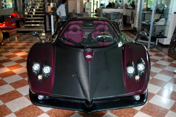 Pagani прекратил выпуск гиперкара Zonda F