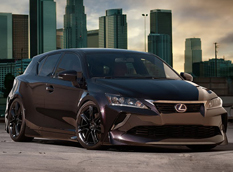Lexus построил CT 200h Low Rider SEMA Edition