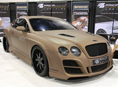 Bentley Continental GT в тюнинге Prior Design
