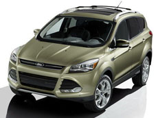 Премьера Ford Escape 2013