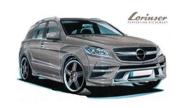 Lorinser работает над Mercedes M-Class 2012