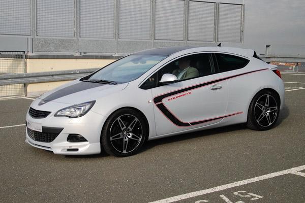 Opel astra gtc в исполнении steinmetz