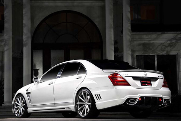 Mercedes S63 AMG Black Bison от Wald International