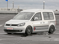MR Car Design превратил VW Caddy в лоурайдер