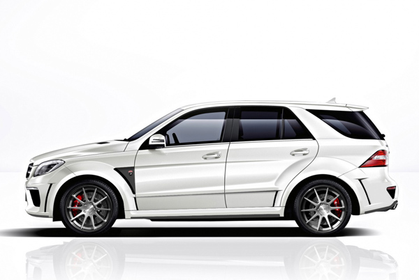 TopCar готовит пакет Mercedes-Benz ML63 AMG