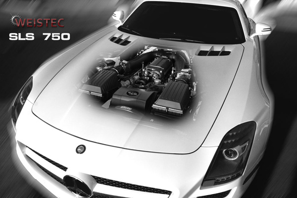 Mercedes-Benz SLS 750 от Weistec Engineering