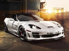 Chevrolet Corvette C6 ZR1 в тюнинге TIKT