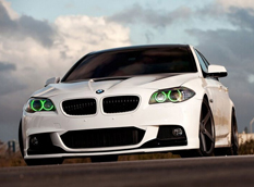 BMW 5-Series в тюнинге Vossen Wheels