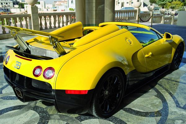 В Катаре покажут желтый Veyron Grand Sport