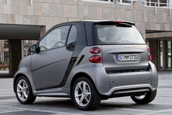 Smart Fortwo получил более современный имидж