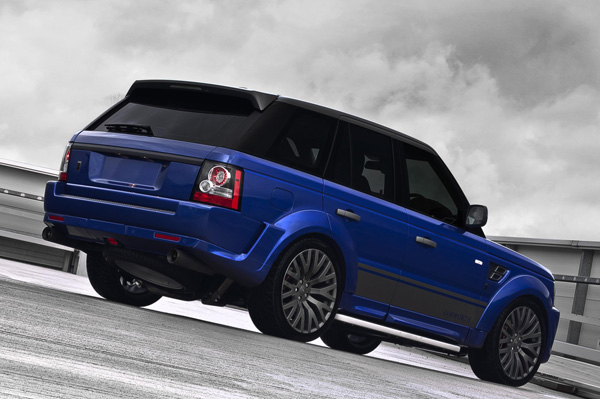 Range Rover Cosworth Imperial Blue от A. Kahn Design