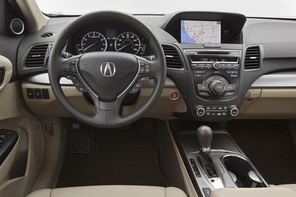 В Чикаго показали обновленный кроссовер Acura RDX