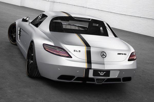 Mercedes-Benz SLS AMG от Wheelsandmore