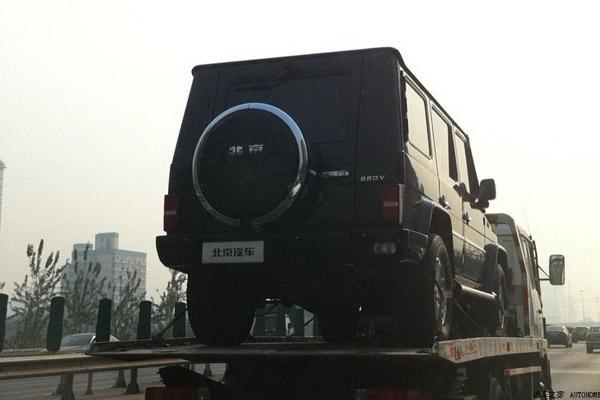 Китайцы скопировали Mercedes G-Class