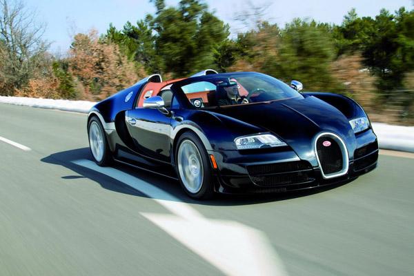 Bugatti представил Veyron Grand Sport Vitesse