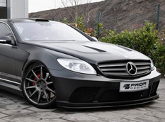 Mercedes-Benz CL Black Edition от Prior Design