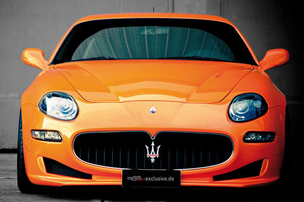 Maserati 4200 Evo Dynamic Trident от G&S Exclusive