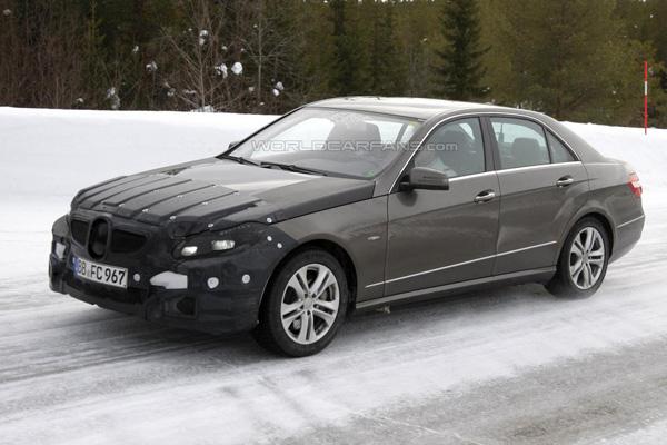 Новые данные о Mercedes-Benz E-Class 2014