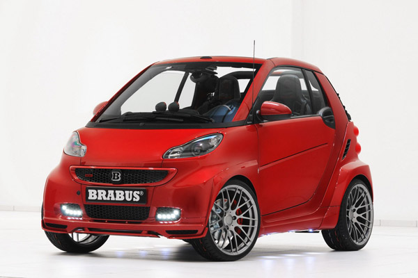 Ultimate 120 - Smart ForTwo в тюнинге Brabus
