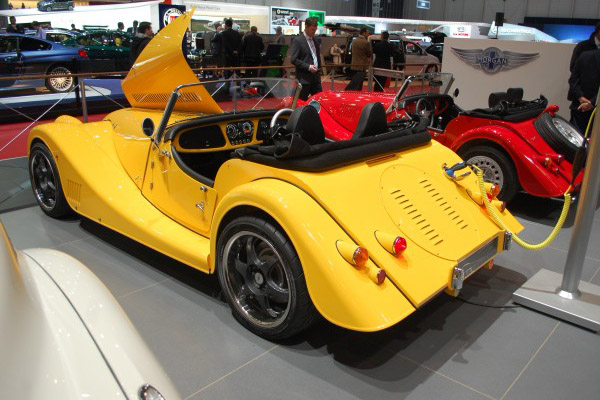 Morgan Plus-E Roadster Concept
