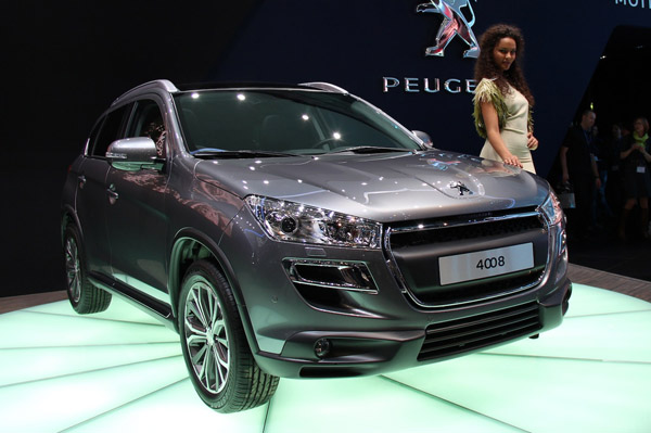 Peugeot 4008 - Женевский дебют