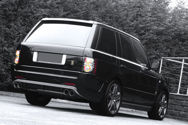 Range Rover Harris Tweed Edition от A. Kahn Design