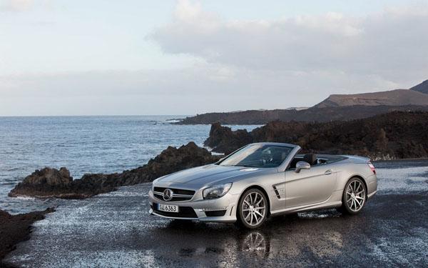 Mercedes SL65 AMG могут показать в Нью-Йорке