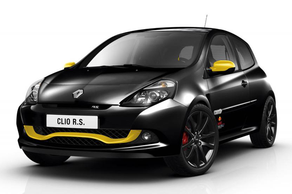 Clio RS Red Bull Racing RB7 - эксклюзив от Renault