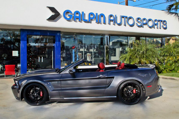 Ford Mustang GT Convertible от Galpin Auto Sports