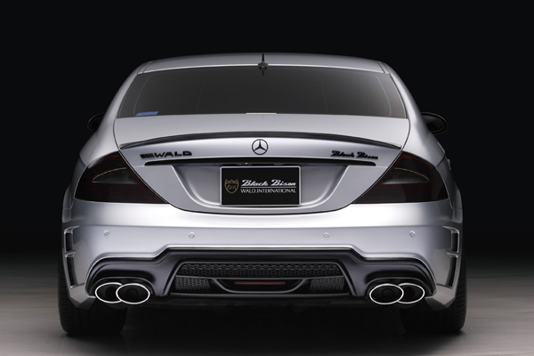 Mercedes-Benz CLS W219 Black Bison от Wald
