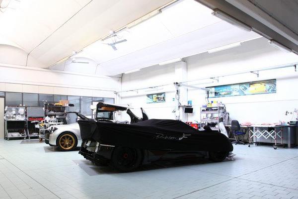 Zonda 760RS - самый мощный суперкар от Pagani