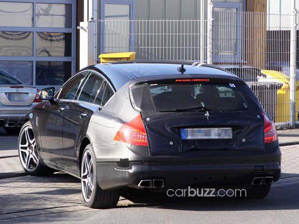 Появились фото универсала Mercedes CLS-Class