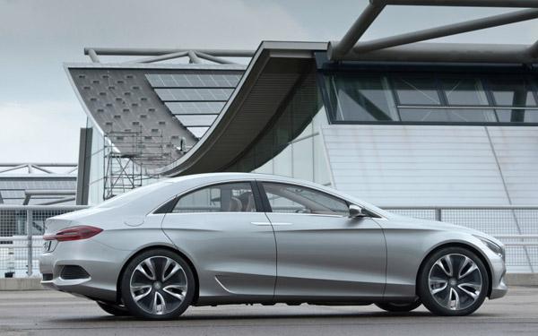 Mercedes покажет новый Concept Style Coupe