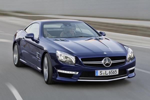 Mercedes-Benz презентовал SL63 AMG 2013